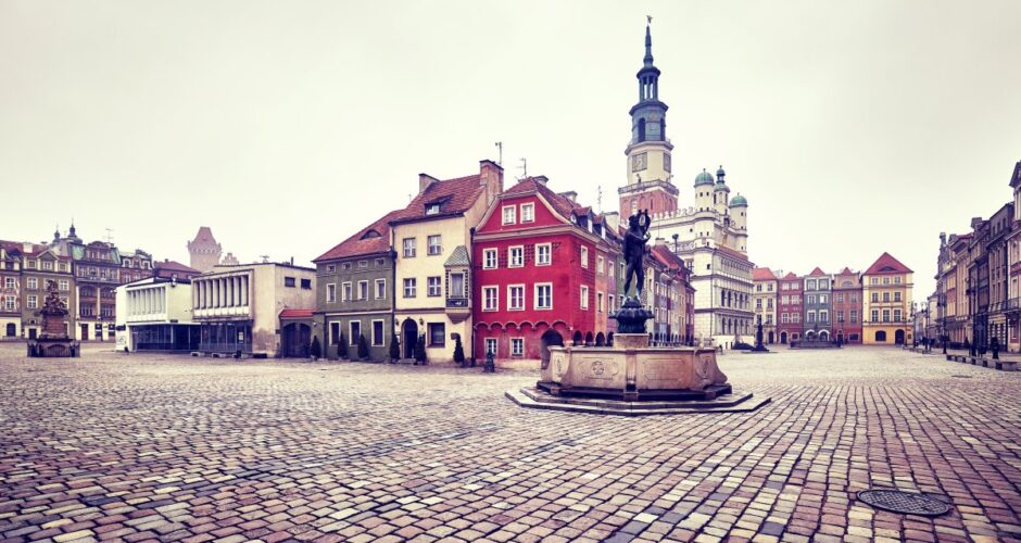 Poznań Stare Miasto Rynek